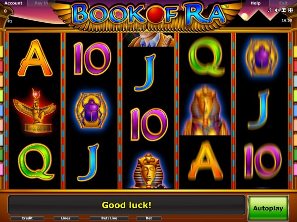 online slots no deposit book or ra
